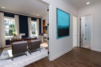 McDaniel Home Design Atlanta, GA New Home Home Offices