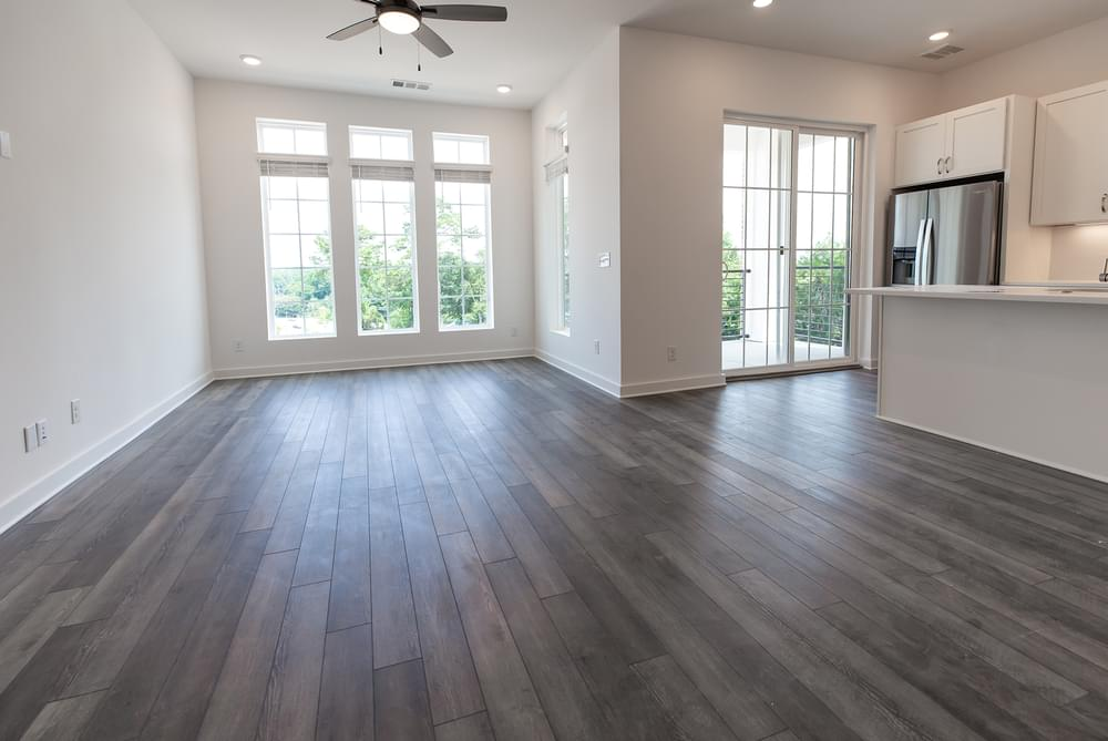Edgehill Home Design Family Room. Alpharetta, GA New Home