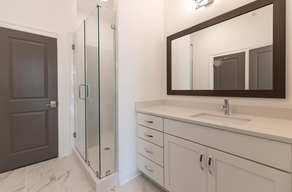 Edgehill Home Design Owner's Bath. Alpharetta, GA New Home