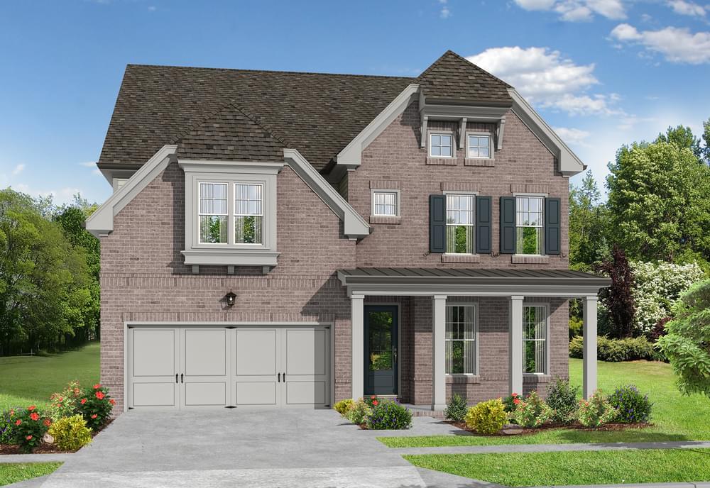 Elevation G. Johns Creek, GA New Home