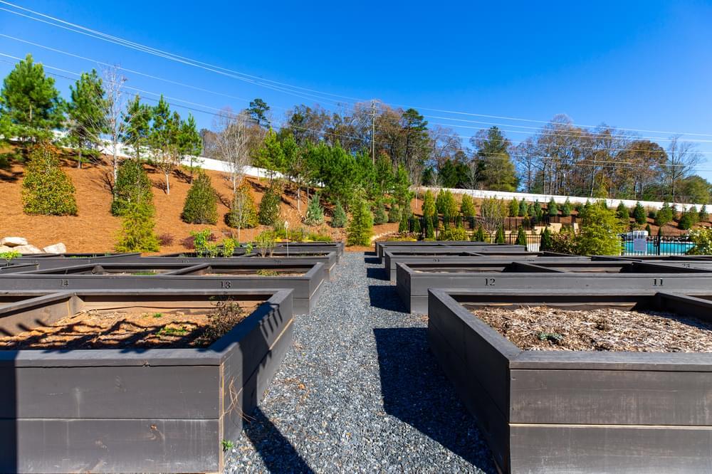 Idylwilde Community Garden. Canton, GA New Homes