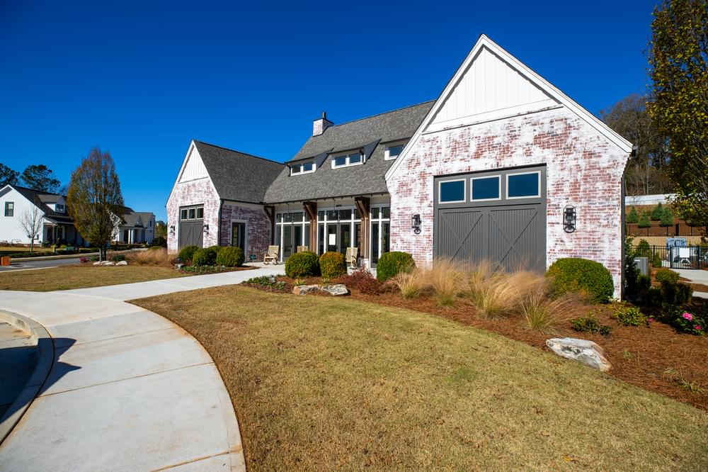 Idylwilde Clubhouse. Idylwilde New Homes in Canton, GA