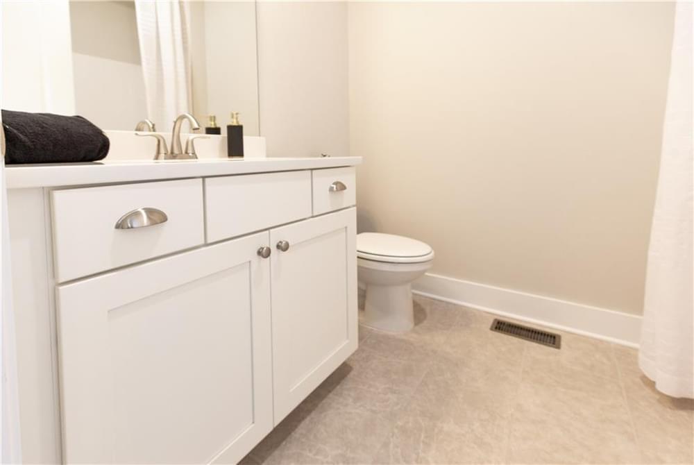 Secondary Bathroom Guest Room. Decatur, GA New Home