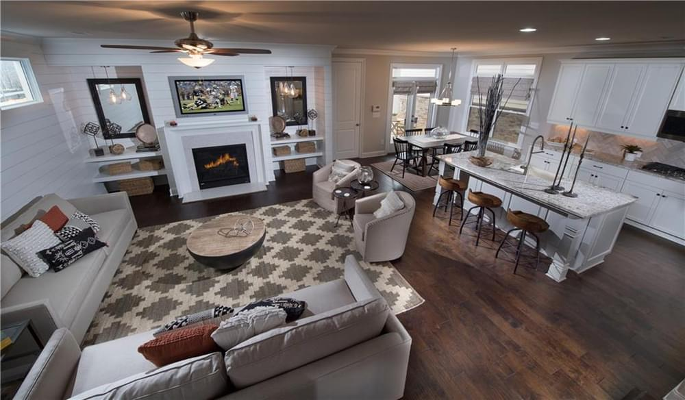 Photos are for representative purposes only and are of model home of same floorplan. 785 Armstead Terrace, Alpharetta, GA