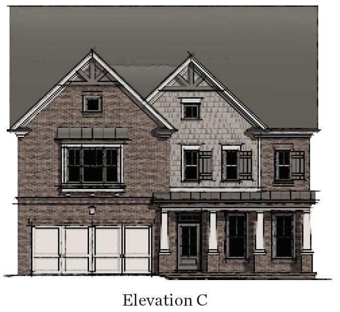 3,472sf New Home in Alpharetta, GA