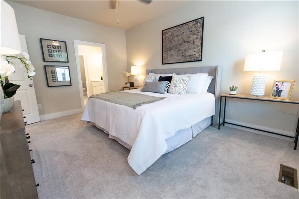 Master Bedroom 2. New Home in Decatur, GA