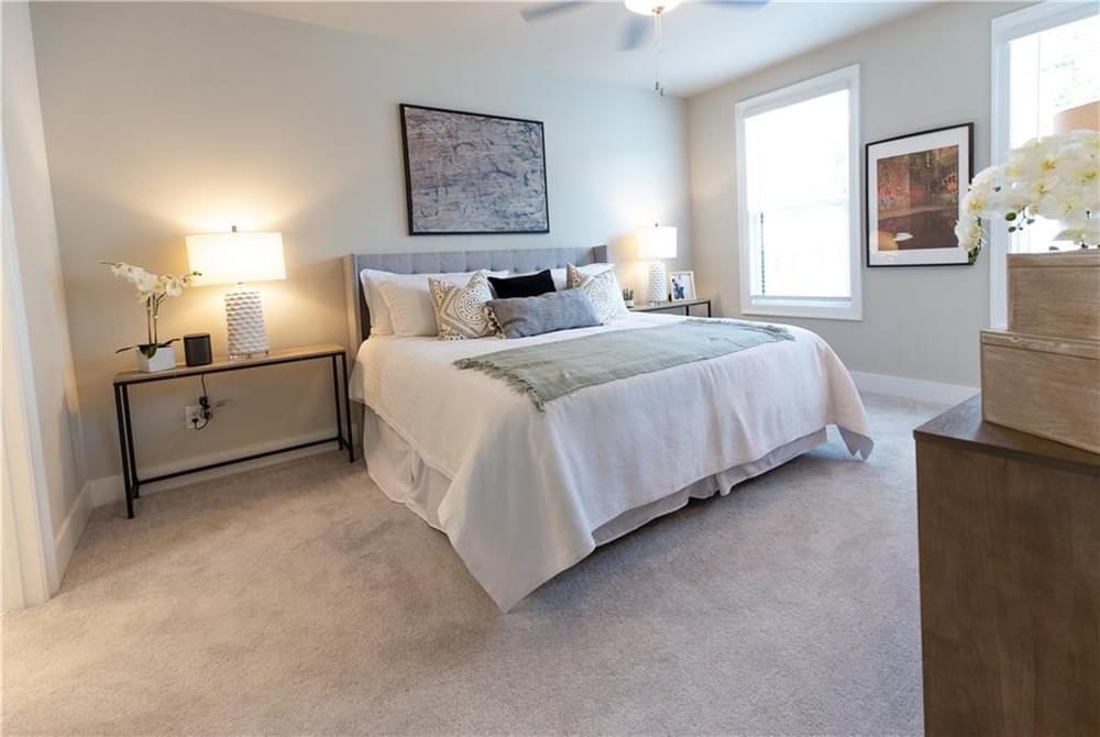 Master Bedroom . 3br New Home in Decatur, GA