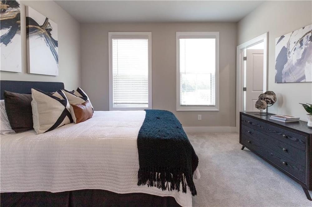 Guest Bedroom 2. New Home in Decatur, GA