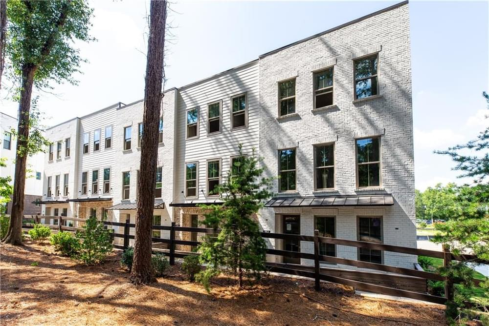 Bldg 37-41 Front Right from Park. 3br New Home in Decatur, GA