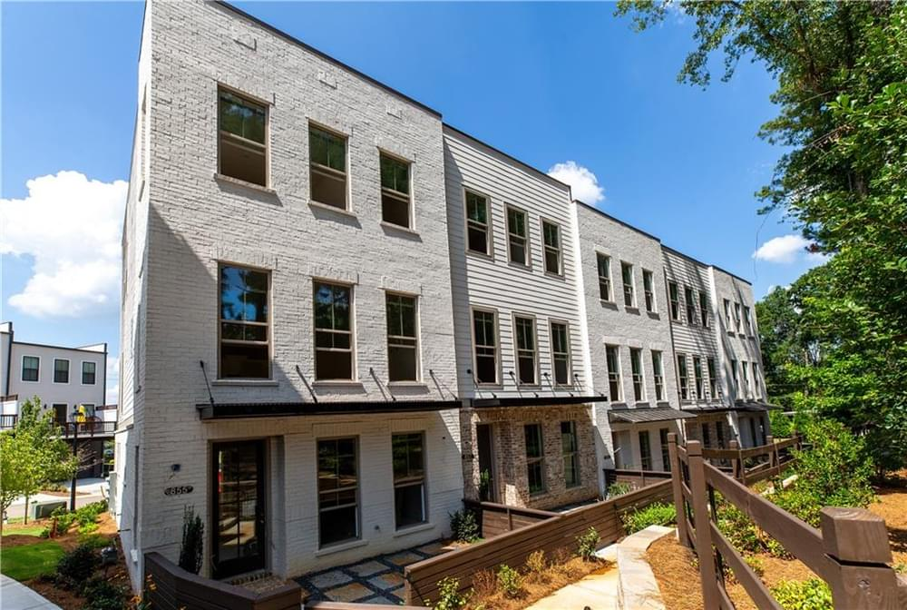 Bldg 37-41 from the Park. New Home in Decatur, GA
