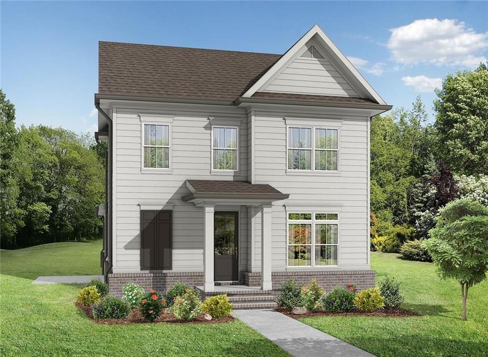 1229 Bennett Creek Overlook New Home for Sale in Suwanee GA
