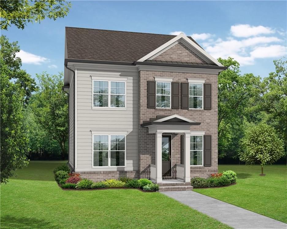 1209 Bennett Creek Overlook New Home for Sale in Suwanee GA