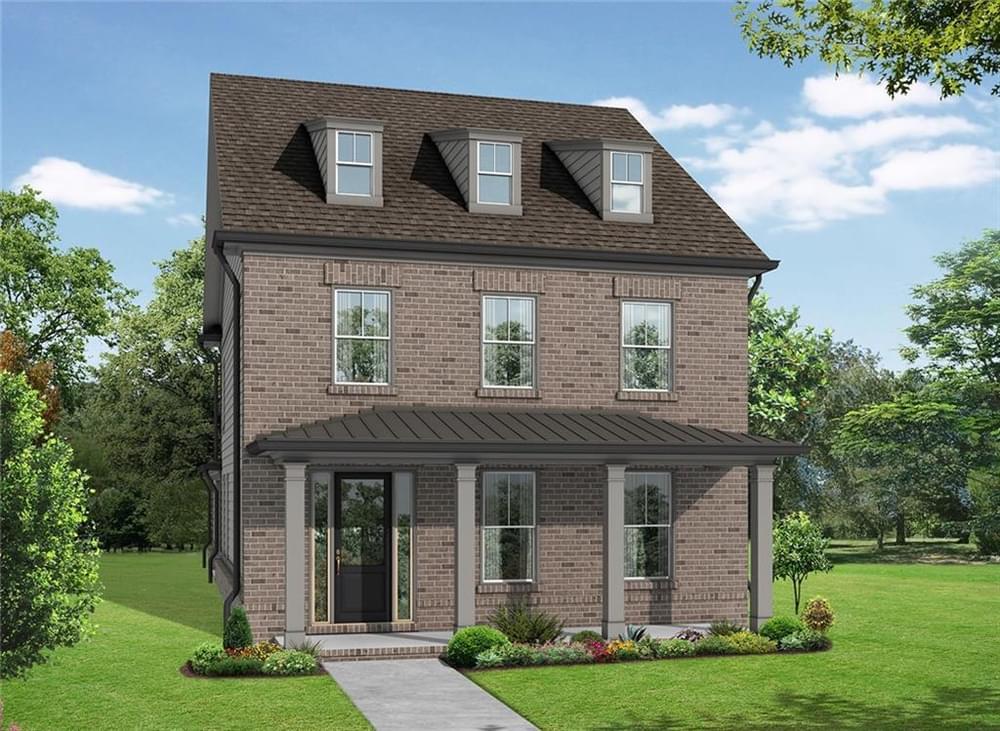 1219 Bennett Creek Overlook New Home for Sale in Suwanee GA