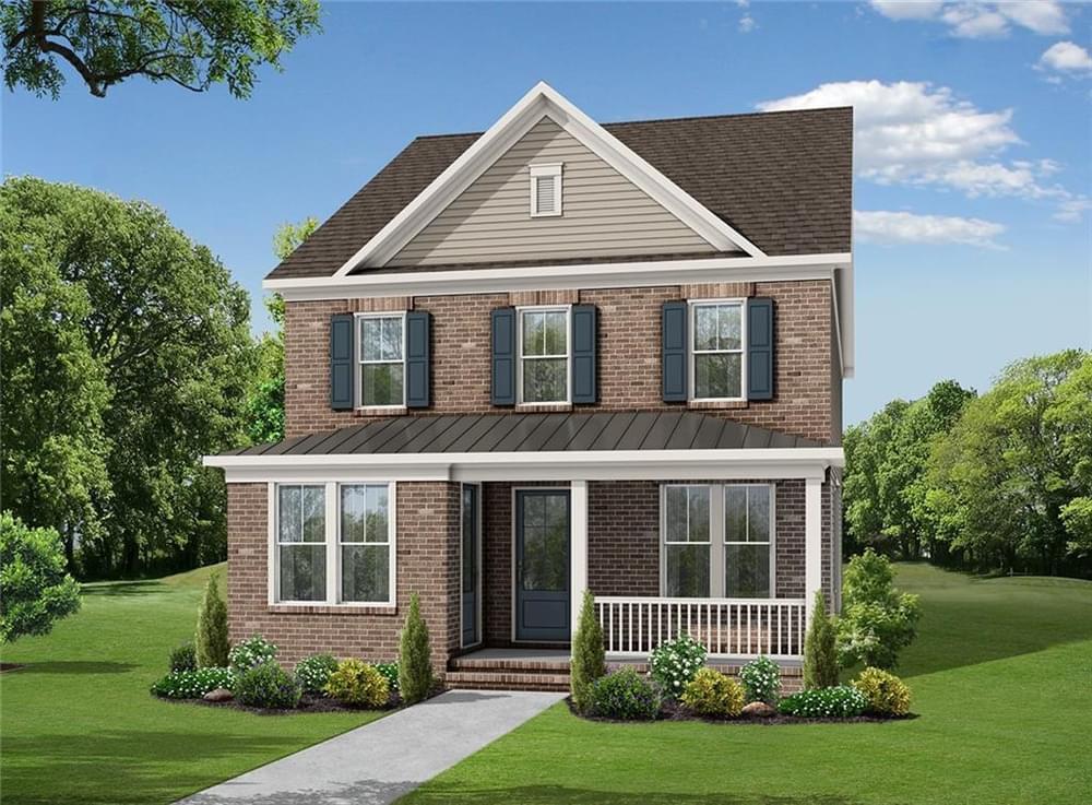 1239 Bennett Creek Overlook New Home for Sale in Suwanee GA