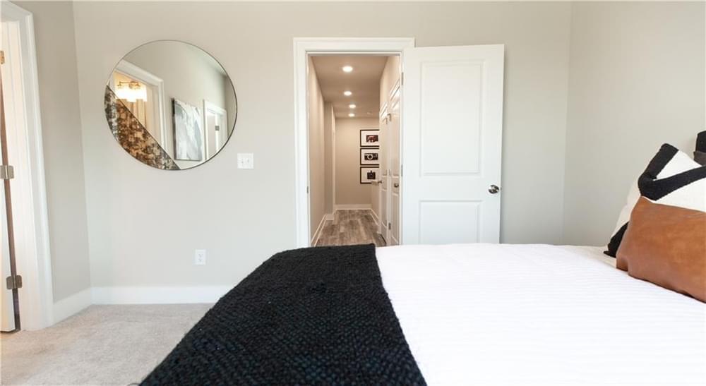 Guest Bedroom 3. New Home in Decatur, GA