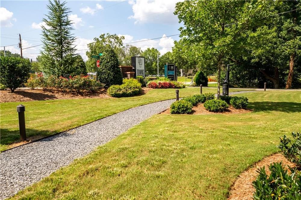 Park Entrance 2. Decatur, GA New Home