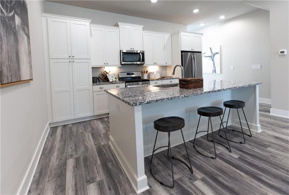 Kitchen From Left. 855 Constellation Drive, 37, Decatur, GA