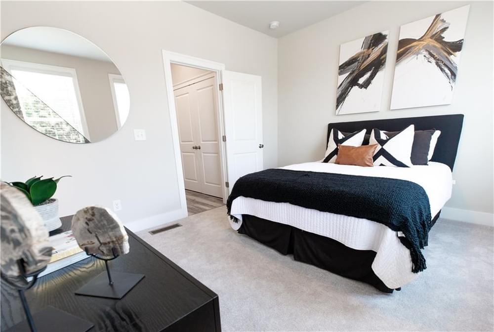 Guest Bedroom. Decatur, GA New Home