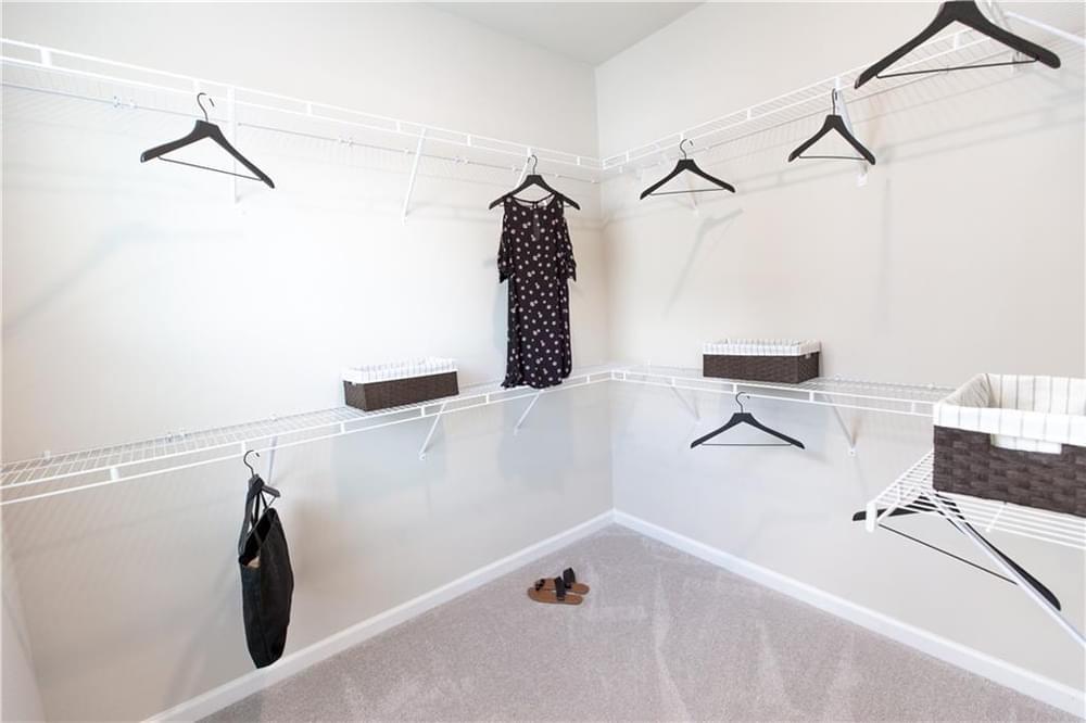 Master Closet . New Home in Decatur, GA
