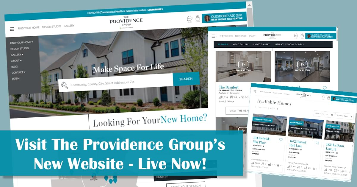 Visit the Newly Redesigned Providence Group Website