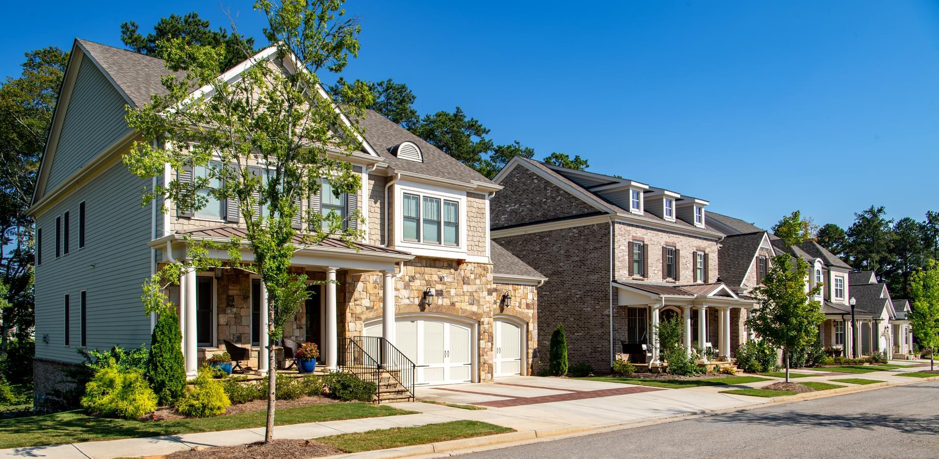 Bellmoore Park New Homes in Johns Creek GA