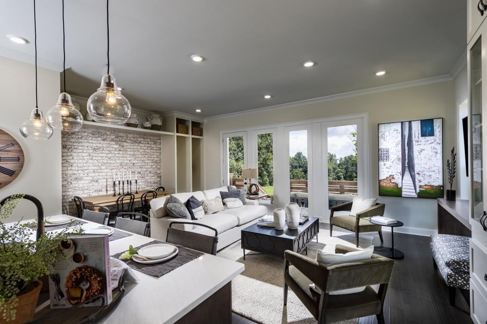 Pierce Model Home. Suwanee, GA New Homes