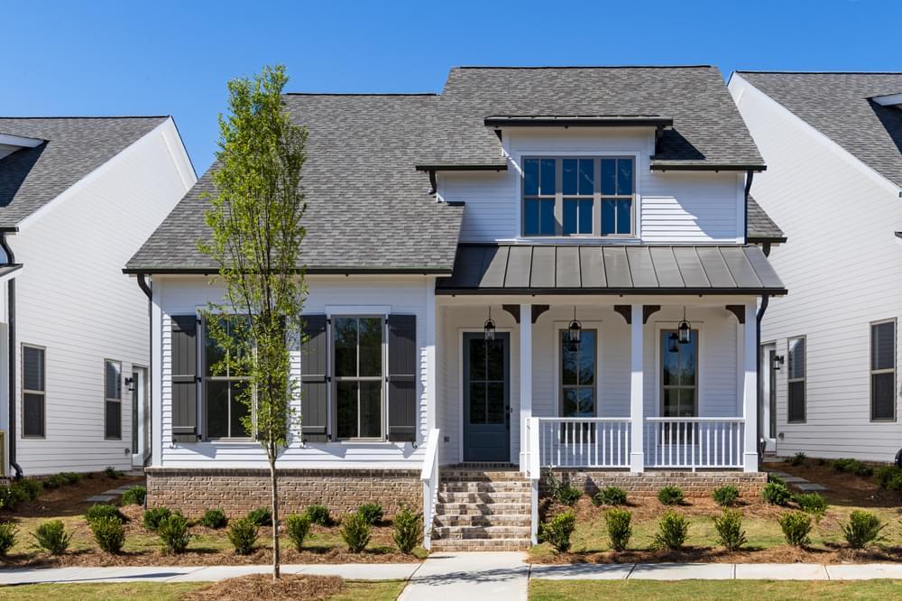 Harrison Home Design. Harvest Park New Homes in Suwanee, GA