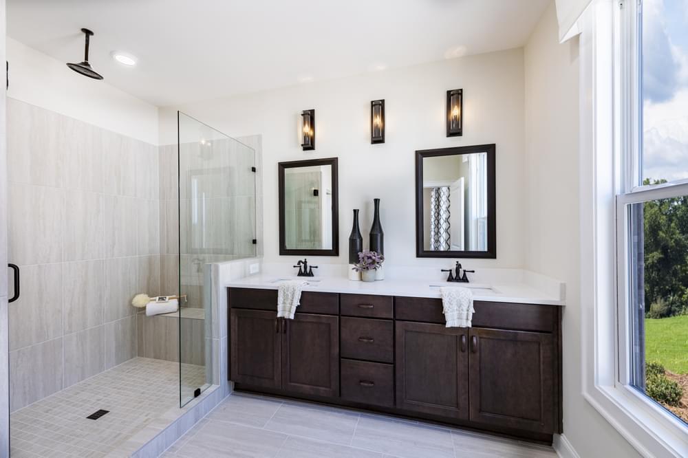 Pierce Model Home. New Homes in Suwanee, GA