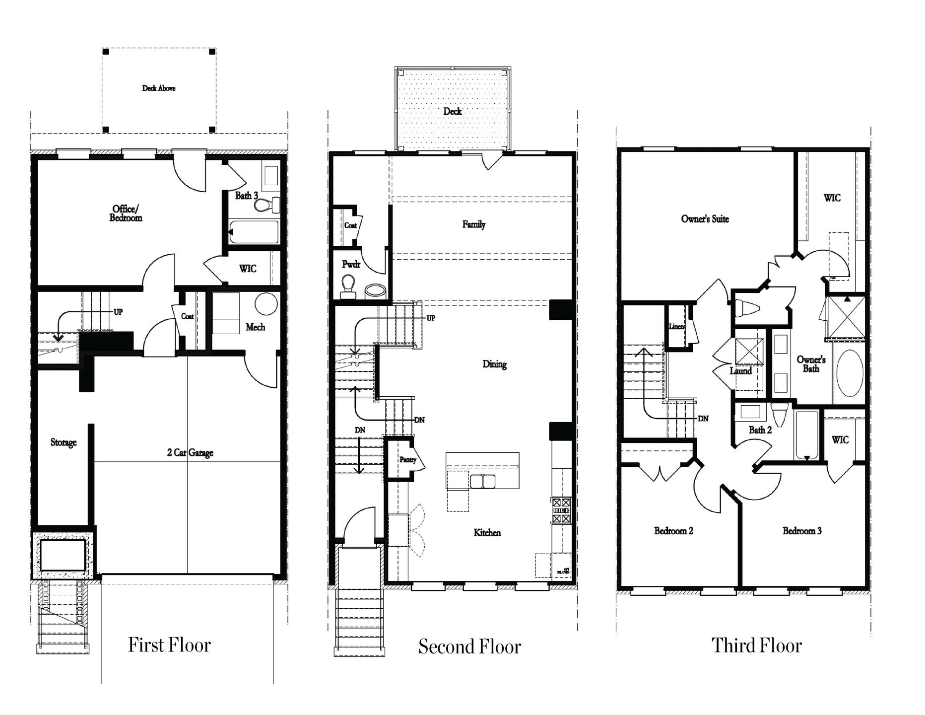 Floor Plans. New Home in Smyrna, GA