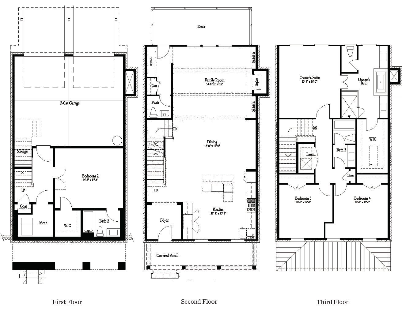 The Greenwood New Home Floor Plan