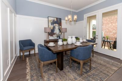 Meyers Home Design Atlanta, GA New Home Dining and Breakfast Rooms
