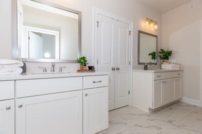 Meyers Home Design Atlanta, GA New Home Bathrooms