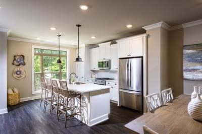 Garrett II Home Design Atlanta, GA New Home Kitchens