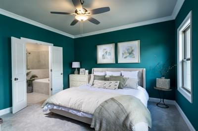 Garrett II Home Design Atlanta, GA New Home Bedrooms