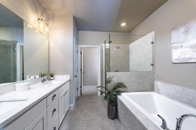 Garrett II Home Design Atlanta, GA New Home Bathrooms