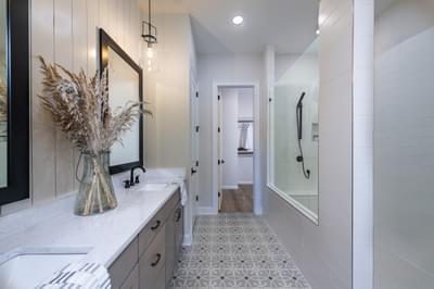 Harrison Home Design Atlanta, GA New Home Bathrooms