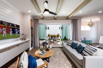 McDaniel Home Design Atlanta, GA New Home Family Rooms