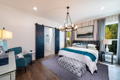 McDaniel Home Design Atlanta, GA New Home Bedrooms
