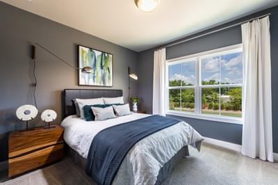 Glendale Home Design Atlanta, GA New Home Bedrooms