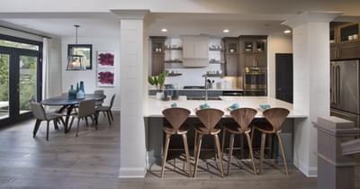 Calhoun Home Design Atlanta, GA New Home Dining and Breakfast Rooms