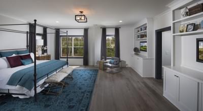 Calhoun Home Design Atlanta, GA New Home Bedrooms