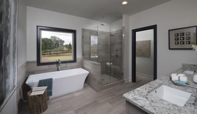 Calhoun Home Design Atlanta, GA New Home Bathrooms