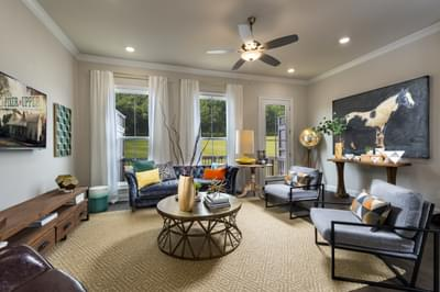 Westside Home Design  Atlanta, GA New Home Family Rooms