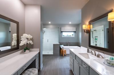 Montgomery Home Design Atlanta, GA New Home Bathrooms