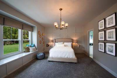 Montgomery Home Design Atlanta, GA New Home Bedrooms