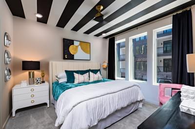 Courtland Home Design Atlanta, GA New Home Bedrooms