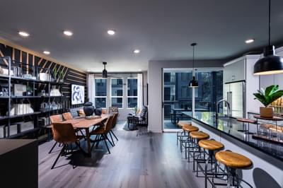 Edgewood Home Design Atlanta, GA New Home Dining and Breakfast Rooms