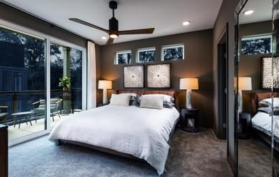 Edgewood Home Design Atlanta, GA New Home Bedrooms