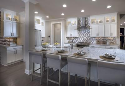 Braxton II Home Design Atlanta, GA New Home Kitchens