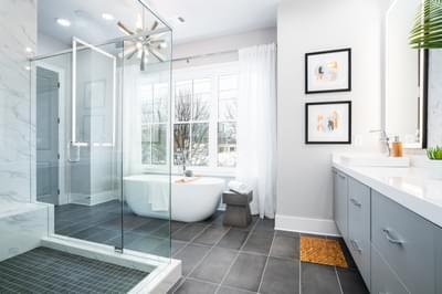 Glen Iris Home Design Atlanta, GA New Home Bathrooms
